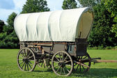 Covered Wagon — 图库照片