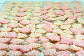 Christmas Tree Spritz Cookies — Stock Photo