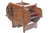 Vintage Fanning Machine To Clean Grain — Stock Photo