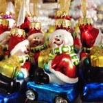 Рождественские и Новогодние игрушки — Стоковое фото