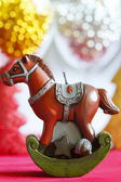 Christmas horse symbol 2014 — Stock Photo