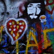 John lennon wall 3 — Stock Photo