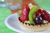 Fruit tarte closeup 2 — Photo