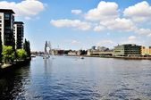 Berlin at the spree at daytime — Stock Photo