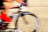 Bicicleta de carreras rápidas — Foto de Stock