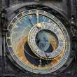 Old prague astronomical clock with apostels — Stock Photo #36880721