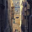 Narrow street of Mdina — Stock Photo