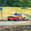 Stock Photo: Rally Estoni2013