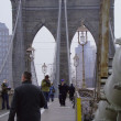 Brooklyn Bridge. Jan. 2010 New York (part 1) — Lizenzfreies Foto