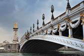 Decoration on bridge — Stock Photo