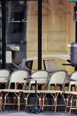 Street bistro — Stock Photo