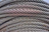 钢丝缆索 — 图库照片
