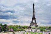Eiffel square — Stock Photo