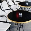 Stock Photo: Black Table