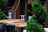 Parisian cafe — Stock Photo