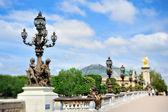 Alexander III Bridge — Stock Photo