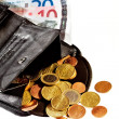 Purse with money — Stock Photo #22931344