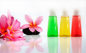 Tropical wellness spa & aromatherapy concept — Stock Photo