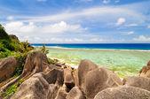 Seascape. The Seychelles — Stock Photo