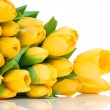 Yellow tulips - Foto Stock