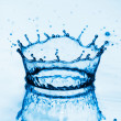 Water splashes background — Stock Photo