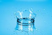 Water splash background — Stock Photo