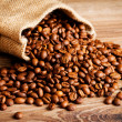The sack of coffee beans — Stock Photo #40901821