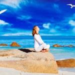Woman meditating — Stock Photo #50202315