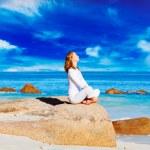 Woman meditating — Stock Photo #50202859