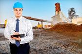 Mining engineer — Stock Photo