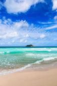 Tranquil beach. — Stock Photo