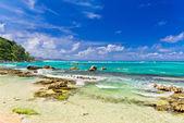 Beach of Seychelles — Stock Photo