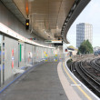 Subway station London - Stock Photo