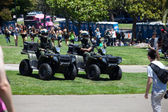 Two rangers in Dolores park — Stock Photo