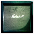 Stock Photo: Marshall Tweed Guitar Speaker Cabinet