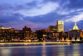 Savannah at Twilight — Stock Photo