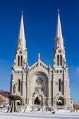 Basilica of Sainte-Anne-de-Beaupré — Стоковое фото