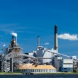 Industrial Paper Mill on a River — Stock Photo #35511541