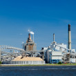 Industrial Paper Mill on a River — Stock Photo #35511571