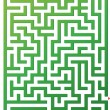 Stock Vector: Vector illustration of maze