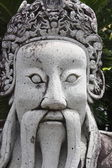 Thai statue head — Stock Photo