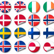 National flags — Stock Photo #23321336