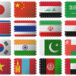 National flags — Stock Photo #23458022