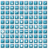 100 web icons — Stock Photo