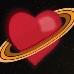 Planet Love — Stock Photo
