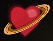 Planet Love — Stockfoto