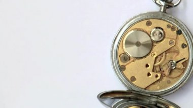 Vintage british clockwork — Stock Video #23139100