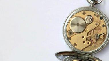 Vintage british clockwork — Stock Video