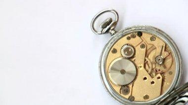 Vintage uhrwerk mechanismus — Stockvideo