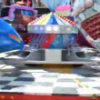 Cologne -  may 12, 2013 - Colorful twister ride — Stock Video